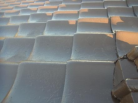 熊本市T様家屋根の塗装完成。ブラウンカラー
