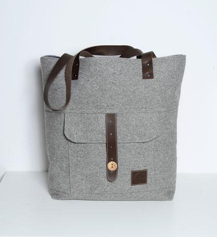 Totebag mit separater Tasche
