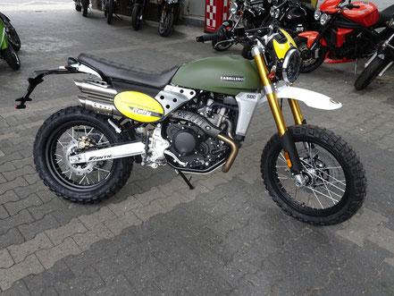 Motorrad mieten wie die Caballero Rally 500 - Modell 2019