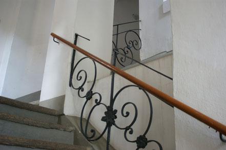 Treppenhaus zum 1. OG