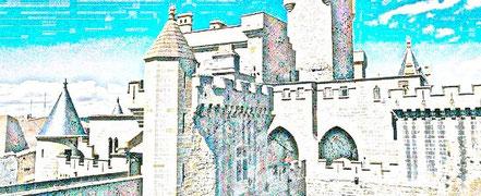 BURGPALAST VON OLITE Navarra