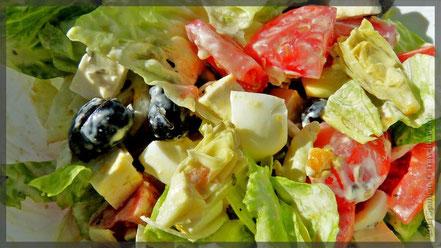 """unser Salat: """"Art des Hauses"""""""