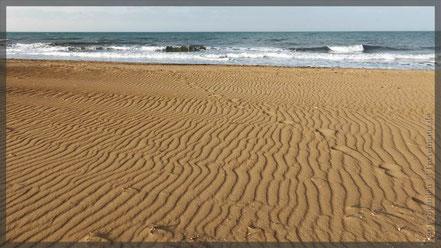 heute am Strand von Denia