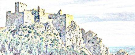 BURG VON LOARRE Huesca