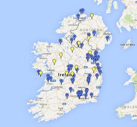 Hochkreuze in Irland