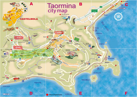 Stadtplan von Taormina. © http://www.orangesmile.com/common/img_city_maps/taormina-map-0.jpg
