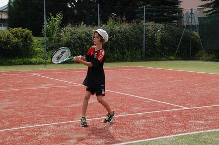 Bild: Tennisverein Rot-Weiss Ebsdorfergrund 1984 e.V. Nachwuchs in Dreihausen
