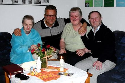 Kommunionfeier mit Bewohnern im Haus Elisabeth - 2005
