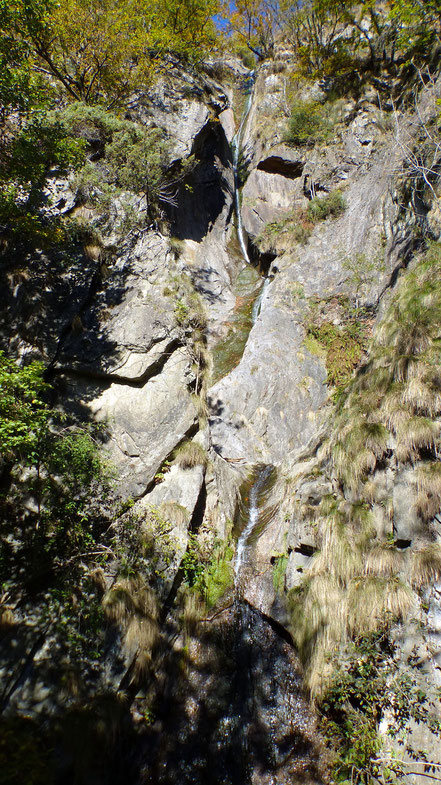 Wasserfall von Trarego - 60 Meter Länge