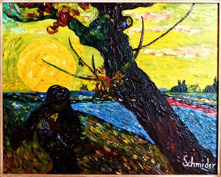 Der Sämann - Vom Impressionismus inspiriert