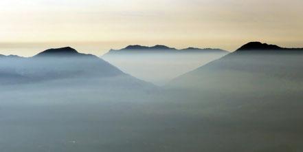 Morgenstimmung am Lago Maggiore - Anfahrt zum Il Colle