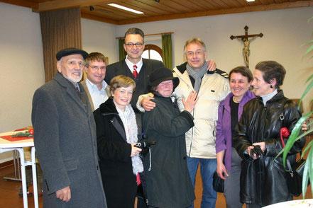 Ehemalige Arbeitskollegen vom St. Josefskrankenhaus in Freiburg