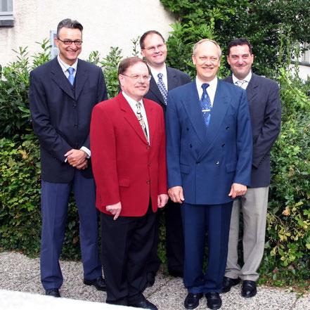 H. Schmider - E. Günther - A. Lachnit - Dr. R. Abele - M. Kress