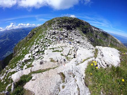 Hinderrugg-Gipfel - 2306 M