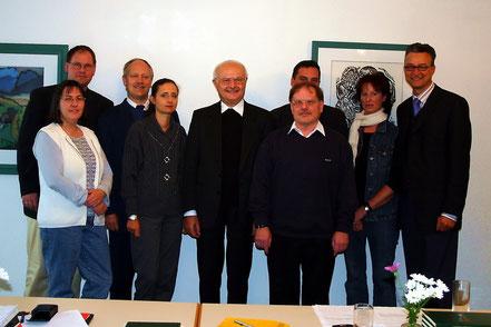 Treffen der Weihekandidaten und Ehefrauen mit EB Dr. R. Zollitsch