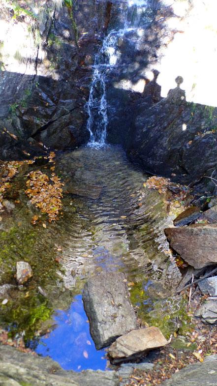 Wasserfall von Trarego