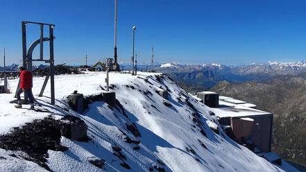 Scopi - Gipfelplateau