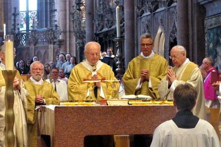 Festgottesdienst zu Fronleichnam mit EB Dr. R. Zollitsch - 2012