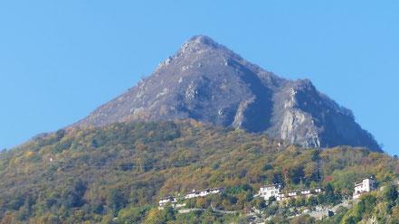 Cima di Morissolo - Blick von Cannero Riviera