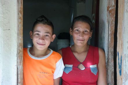 Sael and his mother