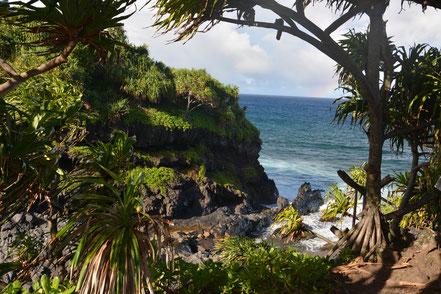 Makahiku Falls, Maui