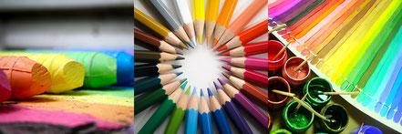 Mettons des formes, des mots et de la couleur dans notre vie !