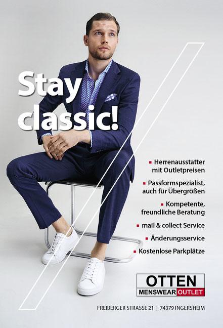 Otten Menswear Outlet Frühjahr/Sommer 2021 Kollektion da, Outlets Ingersheim,