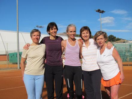 Florence; Marie Christine; Andrea; Patricia; Aude