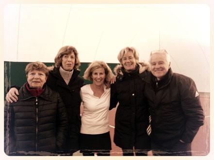 Josiane; Christiane; Bénédicte; Catherine, Yves