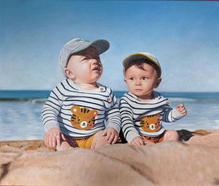 portrait-peinture-famille
