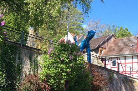 Blau-Miau von Carin Grudda in Gudensberg