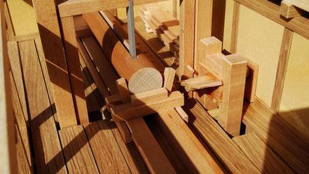 Weihnachtsgeschenk aus Holz