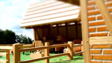 Pferdestall 2015 für Schleich
