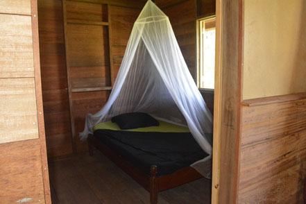 Een tweepersoonskamer in het groepshuis