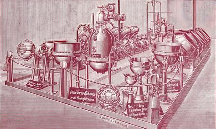 Maschinen und Anlagen auf der Magdeburger Handwerks-Ausstellung 1904.