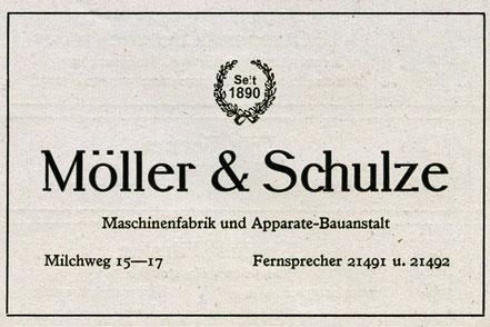 50 Jahre Möller & Schulze Magdeburg Neustadt