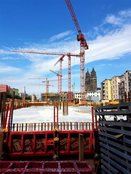Baubeginn Dom-Viertel