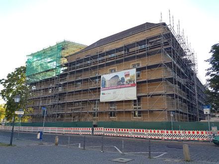 Das Dom-Museum zu Beginn der Sanierungsarbeiten