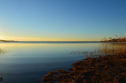 Couche de soleil Lac SANGUINET