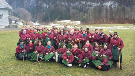 Gruppenbild Pfärrenbacher Natwiebla 2016
