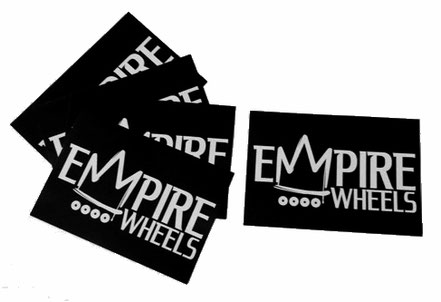 Empire Wheels Co - Skateboarding Sticker Sets