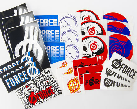 Force Wheels Sticker Packs / VMS Distribution Europe - Revive Force 3Block Braille Germany Austria