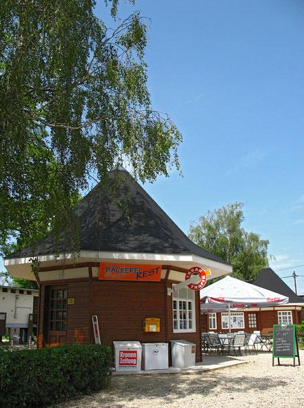 Bäckerei Rest mit Kiosk im Strombad Kritzendorf
