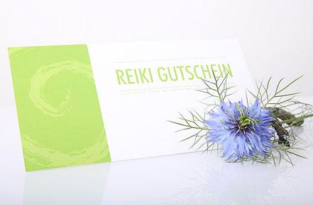 Reiki Gutschein, Reiki & Blüten, Liliane Senn, Küttigen
