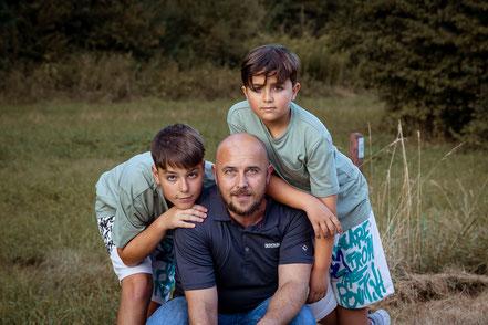 Familie, Familienfoto, Kinder, Eltern