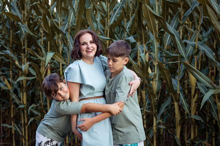 Familie, Familienfoto, Studiofotgrafie, Kinder, Eltern