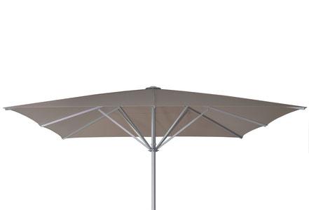 may Sonnenschirme für Seniorenheime FINK Sonnenschirme may Sonnenschirm SCHATTELLO beige ohne Volant 5x5m
