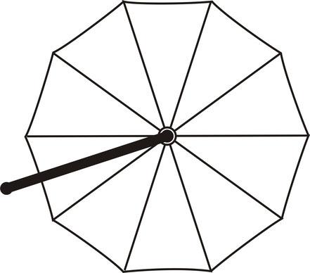 may ampelschirm MEZZO rund