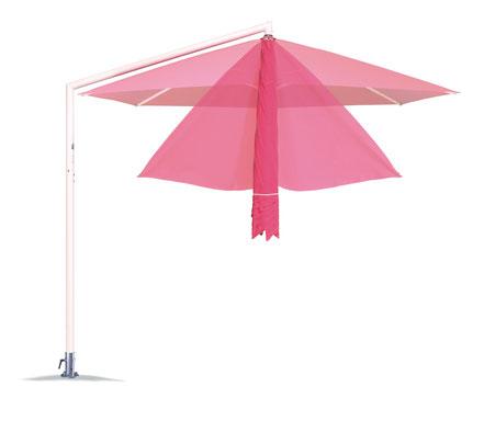 may Sonnenschirm RIALTO magenta pink bei FINK Sonnenschirme Großostheim