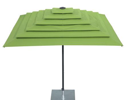 may Filius als Pagodenschirm grün